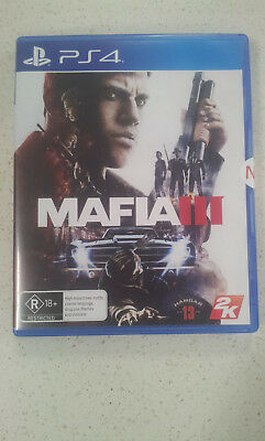 Mafia III 3 PS4 Game (NEW)