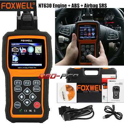 FOXWELL NT630 ABS SRS Scan Tool For OBD2 Auto Diagnostic CAR Tool Scanner