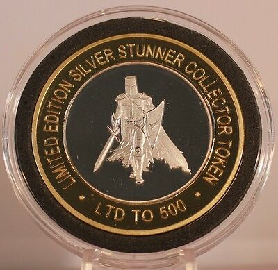 Knights Templar 2 Silver Stunner Coin - Limited Edition 500 Released