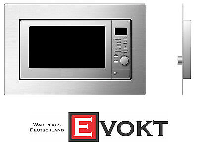 Respekta MW 800 Built-In Stainless Steel Microwave With Grill 800W Genuine New