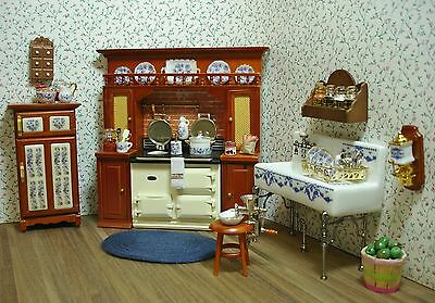 dollhouse miniature furniture. Beautiful Dollhouse Amandau0027s Decorated Victorian Kitchen Dollhouse Miniature Furniture For Y