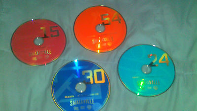 Smallville Complete Series Replacement Discs- DVD- Many Available!