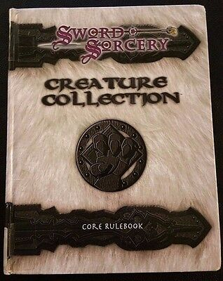 D&D 3.0 CREATURE COLLECTION Dungeons and Dragons Sword & Sorcery WW8300 D20 VG