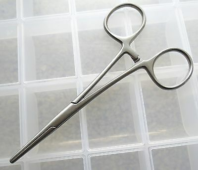 """HEMOSTAT - FLY FISHING TOOL (6"""") ~ barb crusher, eye cleaner, catch and release"""
