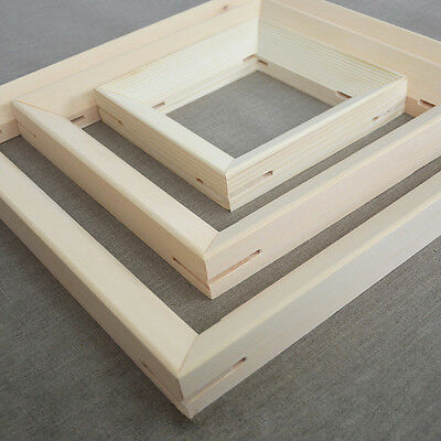 """Wood Bar Frame for Canvas Print Stretcher Strips Gallery Wrapped From 8"""" To 60"""""""