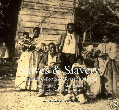 CD - Slaves & Slavery Collection - 90 eBooks (Re-Sell)