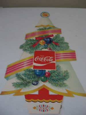 Coca Cola Christmas Tree  Vendor/Retailer POS piece (early 1960's)