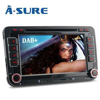 "7"" DVD GPS Autoradio für VW PASSAT GOLF 5 6 Tiguan Touran Sharan Caddy Polo BT"