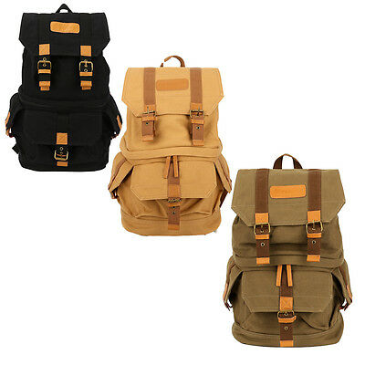 TARION Canvas Camera Case Cover Shoulders Bag Backpack for Canon Nikon Sony SLR