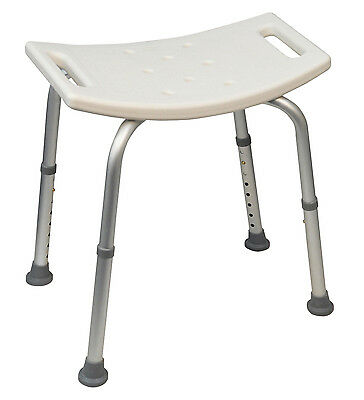 Disability Bath and Shower Seat Stool Bench with Adjustable Height Features BT2