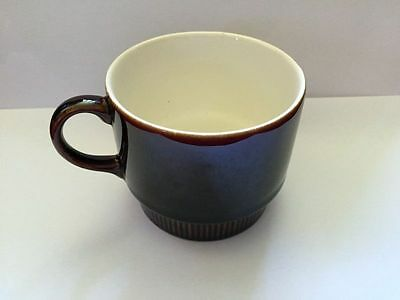 Poole Pottery Brown Coffee Cups