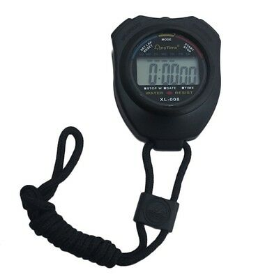 Simple Fashion Sports Waterproof LED Digital Watch Seconds Timer Account F7