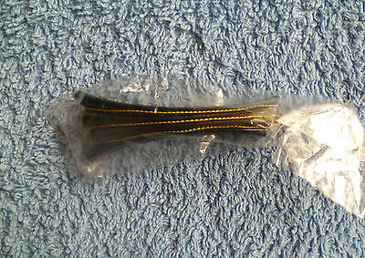 Hair accessories kids GIRL 3 years+ stylish black/gold-colour hair slide 8cm
