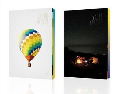 BTS - Young Forever (Day Ver. / Night Ver.) 2CD+Booklet+Photocard+Folded Poster