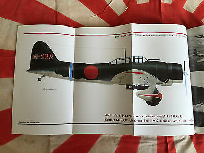 IMPERIAL JAPANESE NAVY AIRCRAFT Mitsubishi A6M Zero AICHI D3A VAL WWII Book