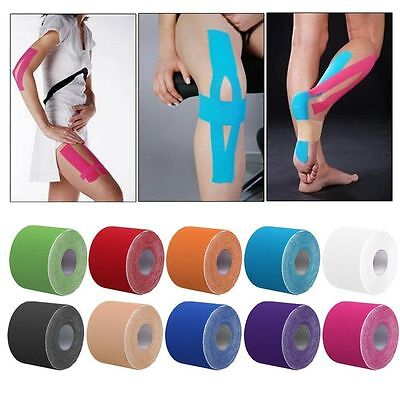 Sport Kinesiology Tape Elastic Physio Muscle Tape PRO Pain Relief Support 5M*5CM