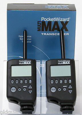 Pocket Wizard Multimax  (( 2 Units ))