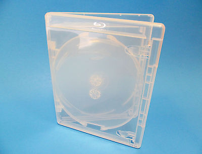 NEW! 5 VIVA ELITE Blu-ray 3-Disc Cases Clear - Holds 3 discs Triple