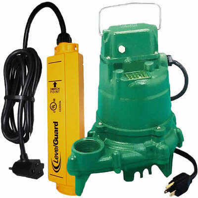 Zoeller N53 - 1/3 HP Cast Iron Submersible Sump Pump w/ LevelGuard™ Switch