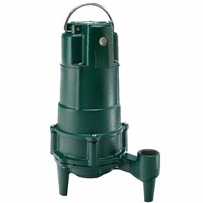 """Zoeller N805 - 3/4 HP Cast Iron Residential Grinder Pump (1-1/4"""") (Non-Automa..."""
