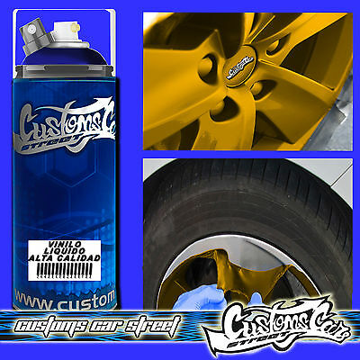 MTN VINILO LIQUIDO  AZUL MATE 400ml SPRAY CUSTOMS CAR 634065091972