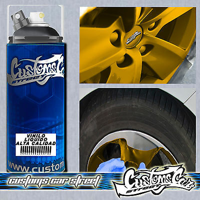 MTN VINILO LIQUIDO  GRIS METALIZADO  400ml SPRAY CUSTOMS CAR 634065092009