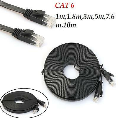 1-10m CAT6 Network Ethernet Patch Cable Modem Router RJ45 for LAN Network lot
