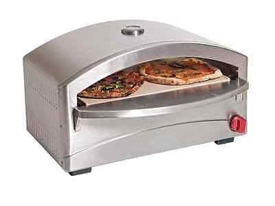 New Portable Pizza Oven Lpg  Gas With Stone Bed Special Offer