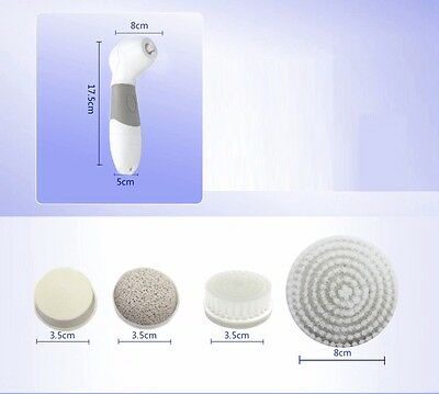 Facial Cleansing Rotating Brush For Face & Body Waterproof Reveals Clearer Skin