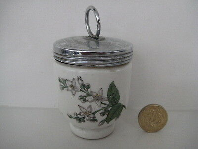 Very Rare Early Royal Worcester Egg Coddler Valencia Small Single Size