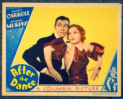 After The Dance '35 Nancy Carroll George Murphy Musical Lobby Card