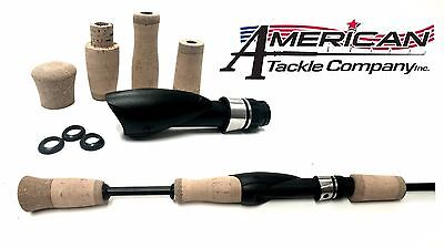 American Tackle Cork Composite Split Grip Spinning Rod Handle Kit