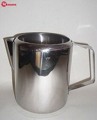 Metaltex Stainless Steel Milk Frothing Jug 0.7L Utility Accessory Kitchen New