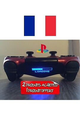 stickers loading lightbar manette ps4 led controller