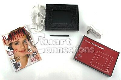Parrot 3.5 Inch Bluetooth Photo Viewer Black Frame