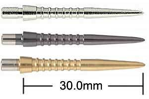 Target Storm Points - Grooved 30.0mm