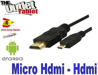 SONY HANDYCAM HDR-GW66 MICRO HDMI TO HDMI CABLE TO CONNECT TO TV HDTV 3D  UZ2828