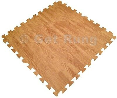 48 sq ft wood grain interlocking foam floor puzzle tiles mat puzzle mat flooring