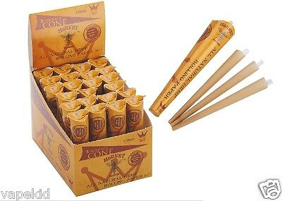 72 Cones 110mm King Size Pre Rolled Cones Rolling Paper not Raw Paper Cone