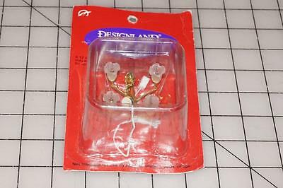 Designland Dollhouse Miniature House Electric Lighting 4 Arm Palace Chandelier