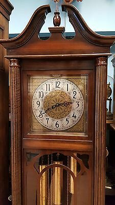 ANTIQUE GERMAN GRANDFATHER CLOCK 50-60 Years Old  IN EXCELLENT WORKING ORDER