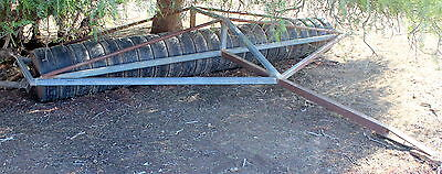 Farm Roller 16 Foot Wide X 3 Meters Quility Home Made Soil Seed Presser
