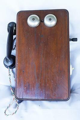 Vintage QR Queensland RailwaysTelephone British Ericsson Old Internal Mechanism