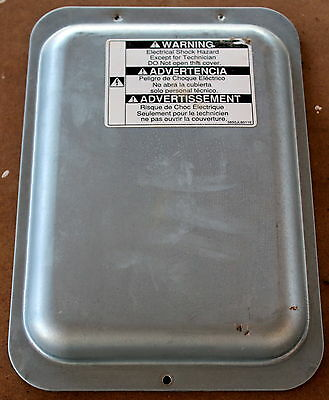 Lg Refrigerator Freezer Gm-B208Sts Part - Electronics Cover Back Plate