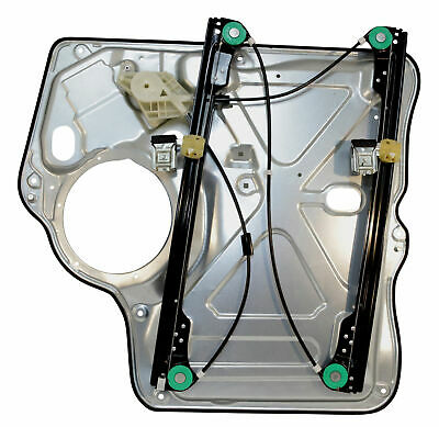 Vw Transporter T5 Front Right Window Regulator Without Motor With Panel