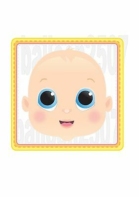 Baby Shower Party Game  Baby Face Poster Game Decoration Pin The Dummy