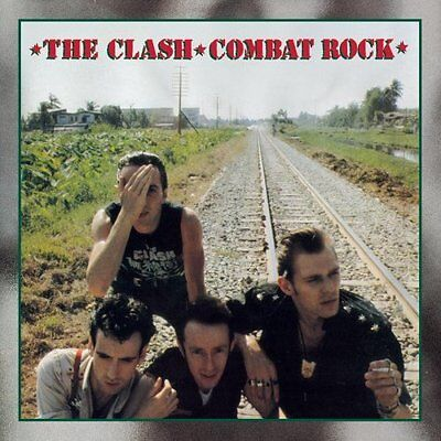 The Clash 'combat Rock' Fridge Magnet - New / Sealed - Free Delivery