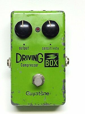 Guyatone PS-103, Driving Box, Compressor, Made In Japan, Late 70's, Effect Pedal