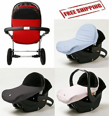 Baby SunShade Stroller Cover Wind Infant Car Seat Sun Canopy Shade UV Protection
