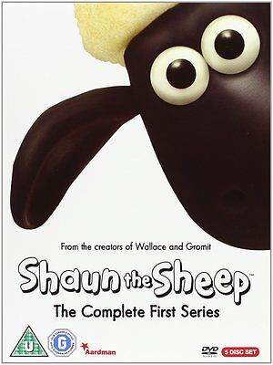 Shaun The Sheep Complete First Series 1 (DVD Box Set, 2008) - Brand New & Sealed